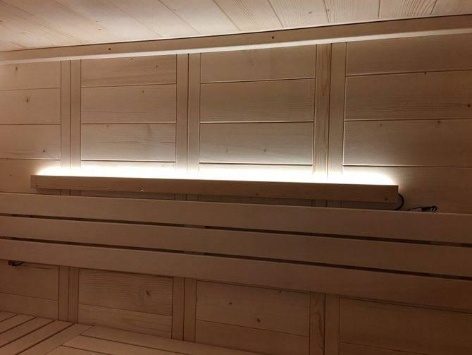 Какие светильники для сауны и бани наиболее практичны и безопасны