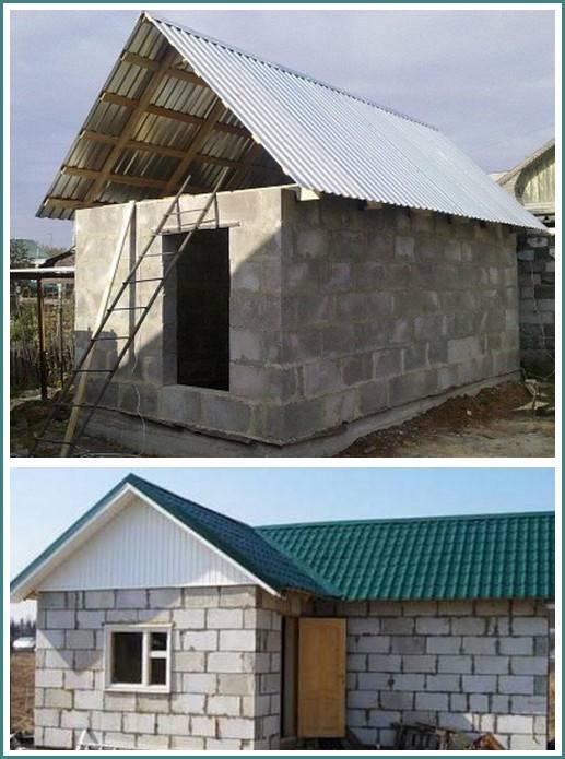 Проекты и строительство бань из керамзитобетонных блоков