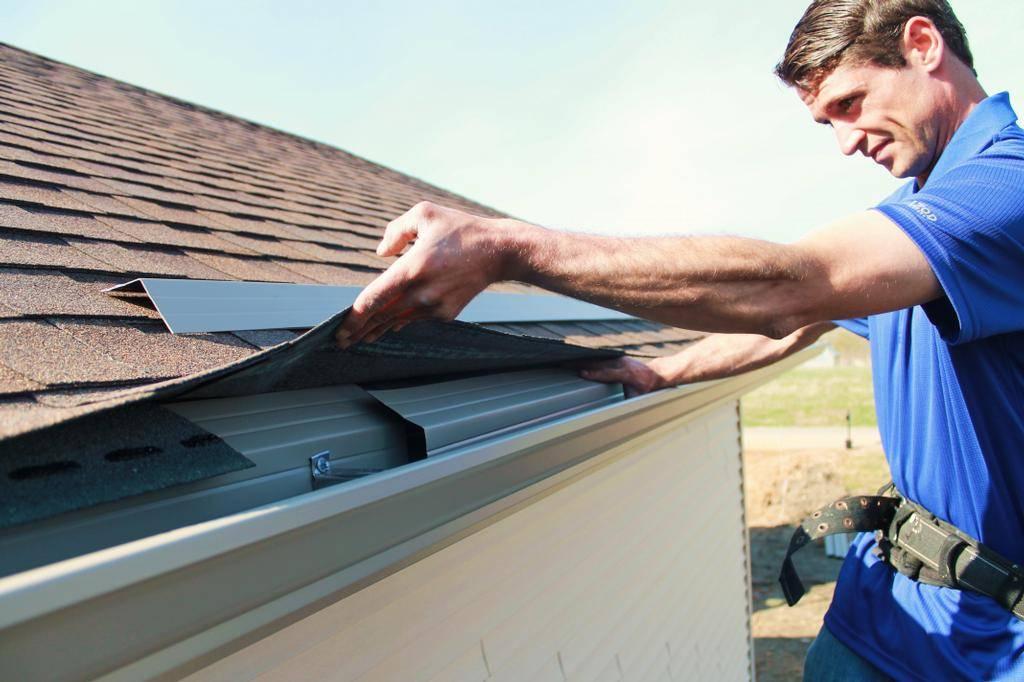 Как крепить водостоки к крыше - клуб мастеров