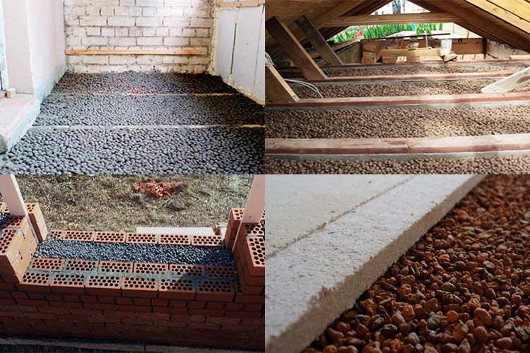 Применение керамзита в ландшафтном дизайне. как использовать сыпучие материалы на даче