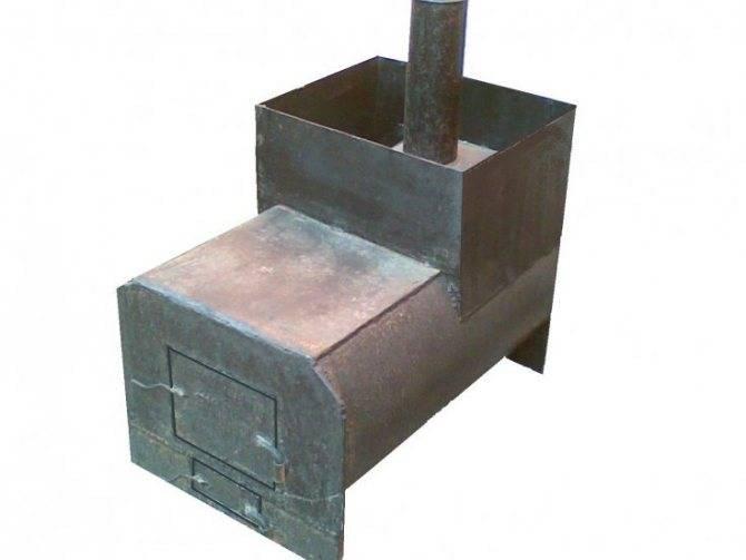 Печи из трубы: куда подойдут, удачные конструкции, устройство, схемы, как сделать своими руками