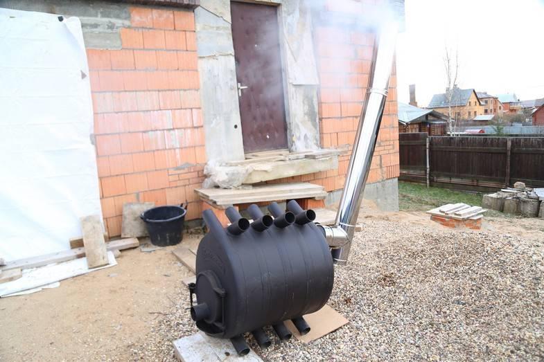 Подбираем и делаем правильный дымоход для булерьяна