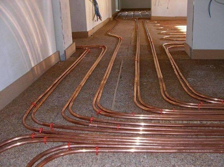 Трубы для теплого водяного пола - какие виды труб лучше использовать