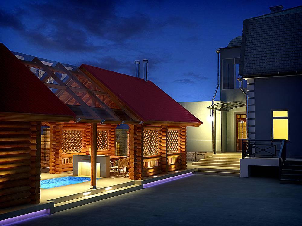 Оригинальные проекты дома с баней под одной крышей: все о реализации и 65+ практичных и надежных вариантов