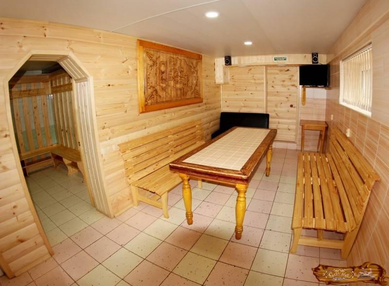 Тонкости обустройства комнаты отдыха в бане