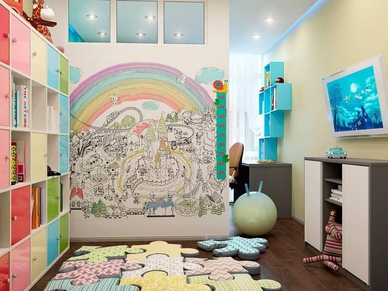 Роспись стен в детской (51 фото): художественная роспись в детской комнате. как сделать роспись для детей в квартире своими руками?