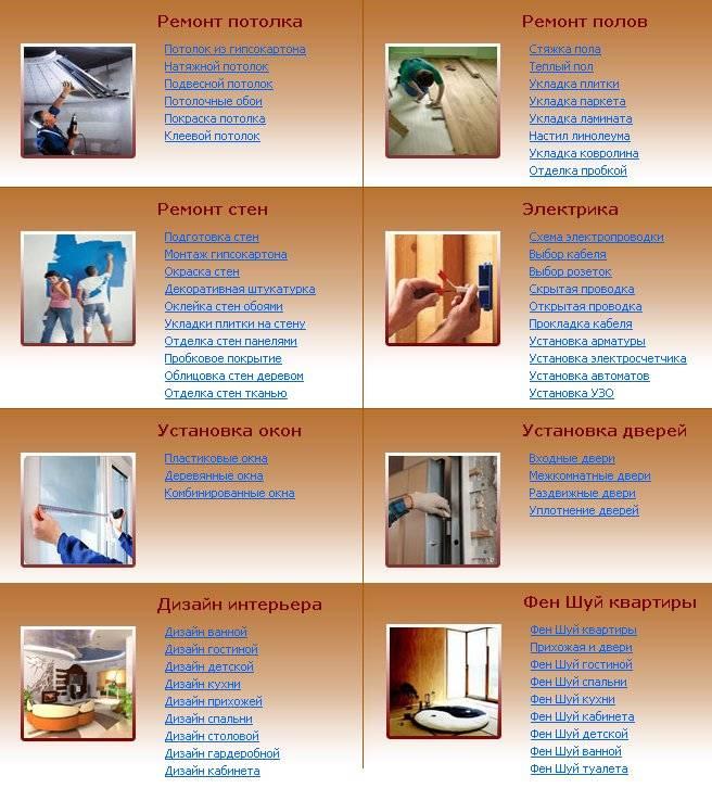 Полезные советы - ремонт квартир