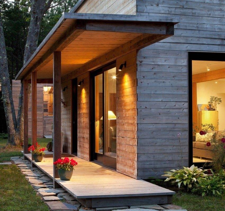Крыльцо для частного дома: лучшие варианты 30 фото и видео