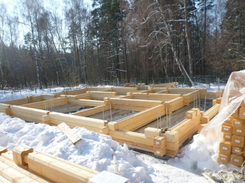 Бани из клееного бруса – особенности строительства под ключ