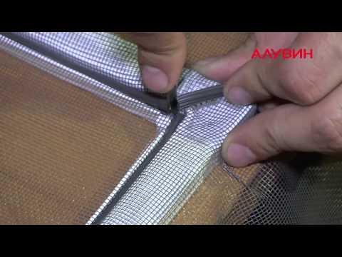 Москитная сетка своими руками пошаговая инструкция