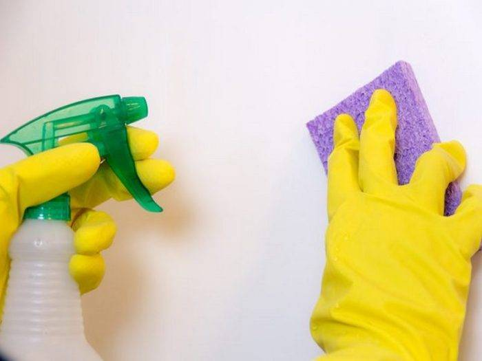 Как правильно мыть покрашенные стены