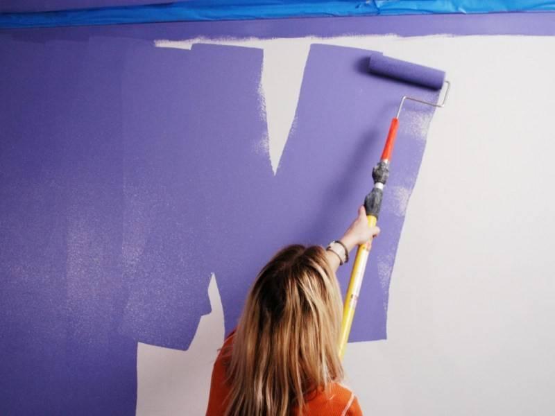 8 идей оригинальной покраски стен