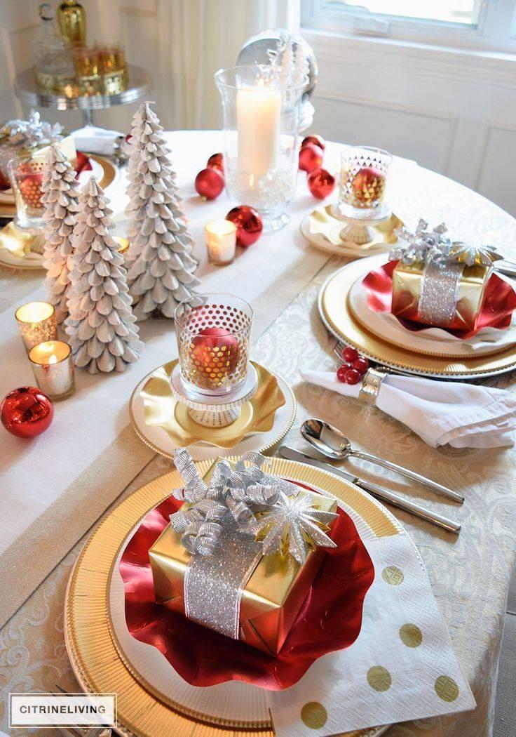 Как сделать новогодний стол полезным