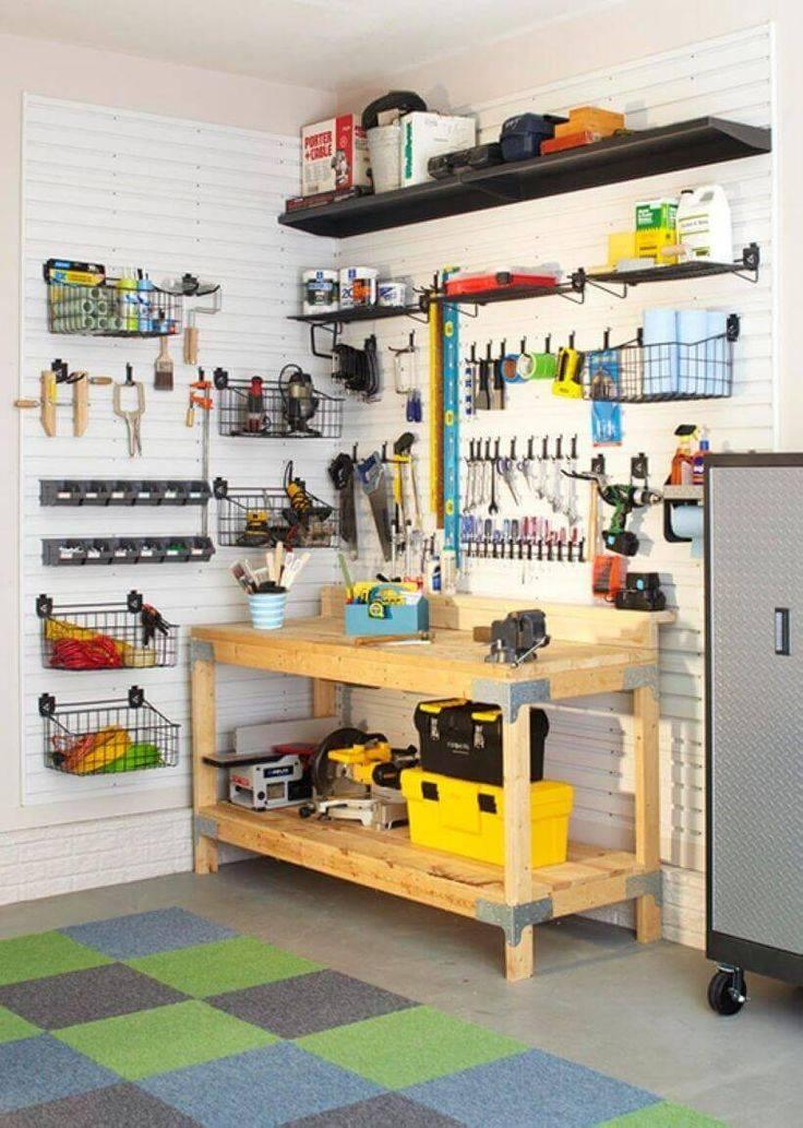 Дизайн гаража: идеи оформления интерьера своими руками