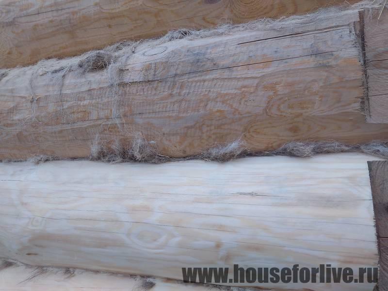 Когда, чем и как конопатить дом из бруса: материалы, способы утепления, технология работ