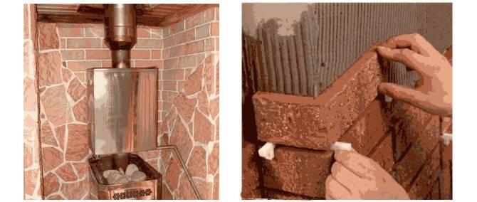 Терракотовая плитка (терракот) для печей и каминов: цена, облицовка, смеси
