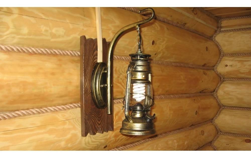 Какие нужны светильники в баню и сауну?