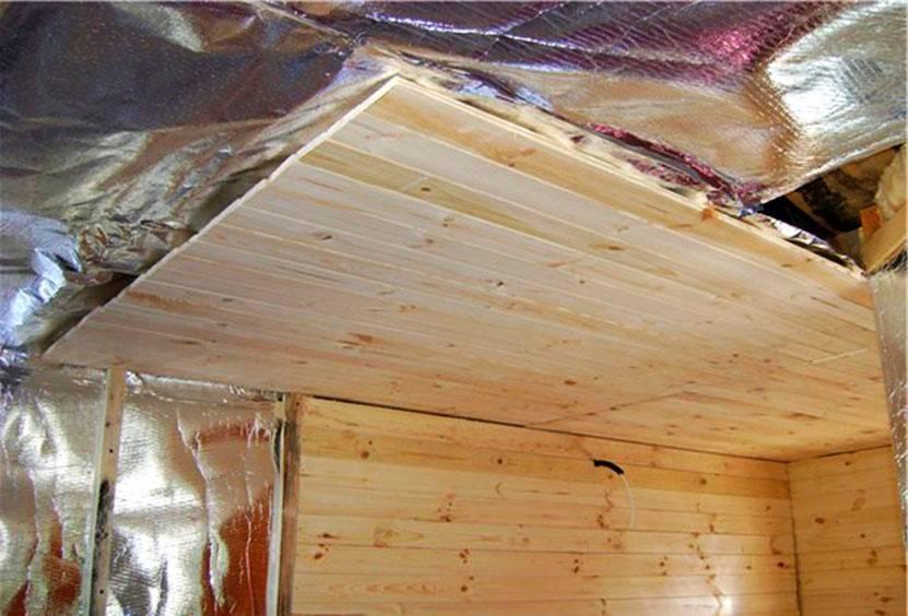 Пароизоляция потолка и стен бани: способы и схемы монтажа