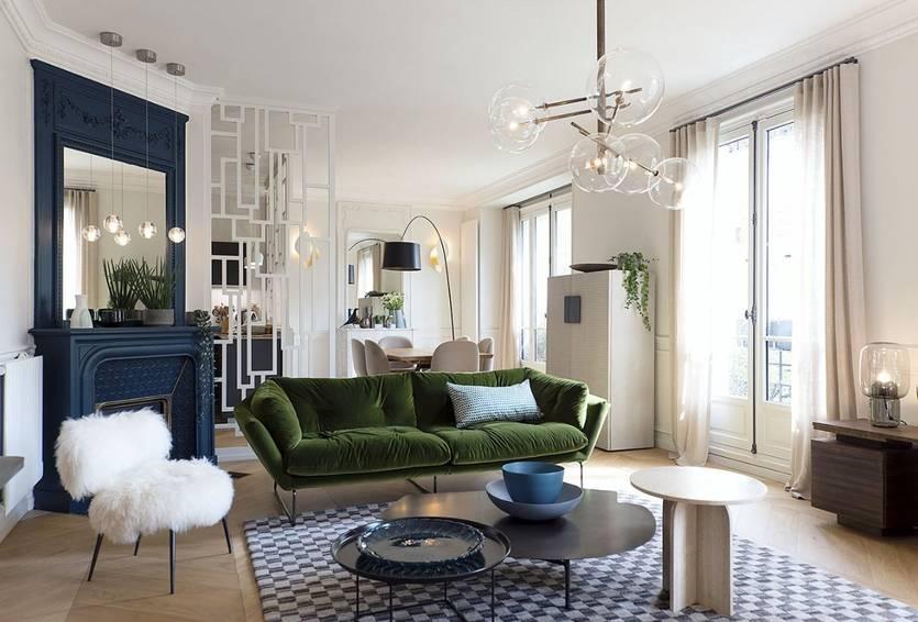Стильная парижская квартира интерьер от leainvent, франция стильная парижская квартира интерьер от leainvent, франция