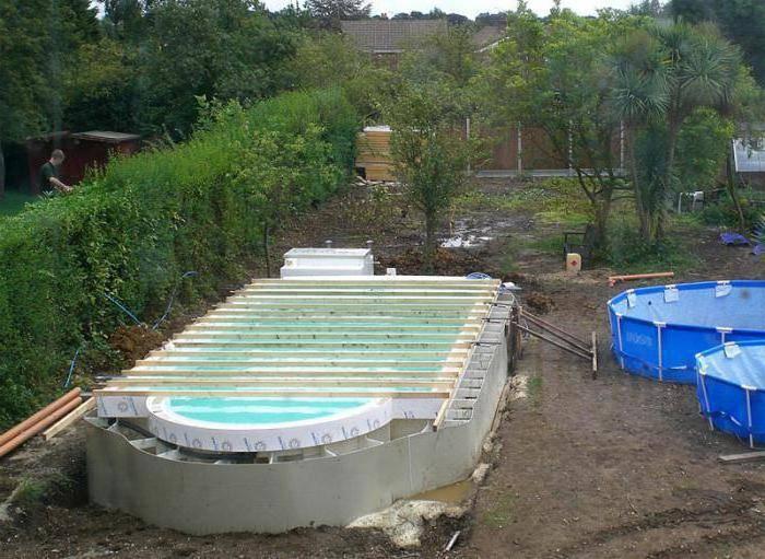 Как сделать бассейн из полипропилена своими руками