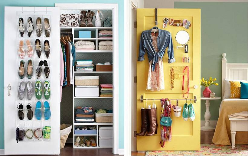 Как грамотно складывать вещи в шкаф