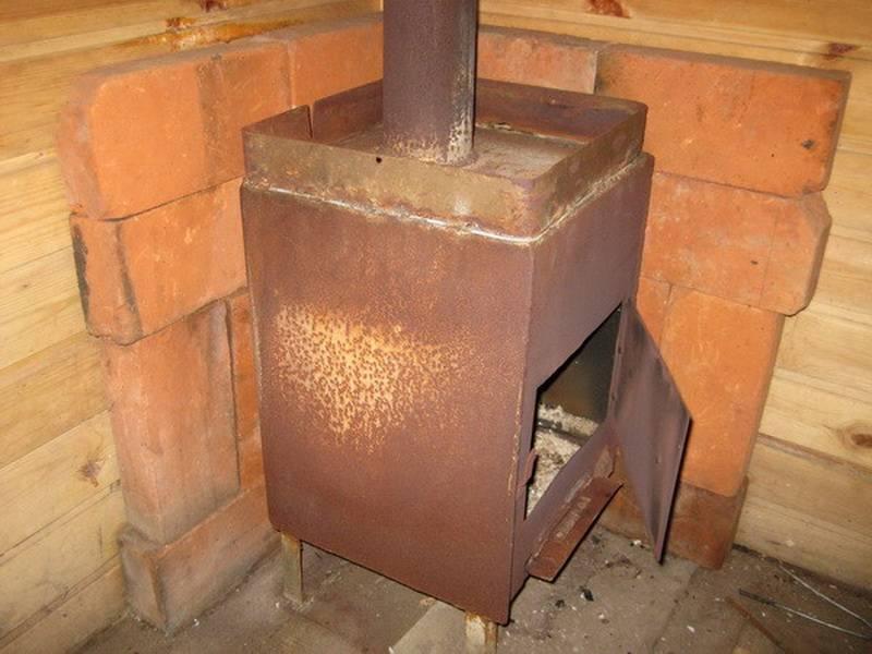 Конструкции печей для бани: схемы, устройство печи в бане