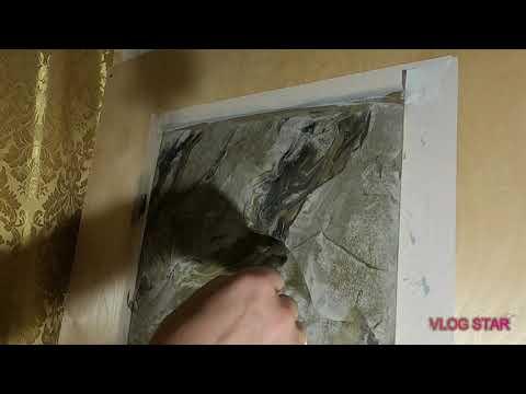 Как сделать имитацию мрамора своими руками