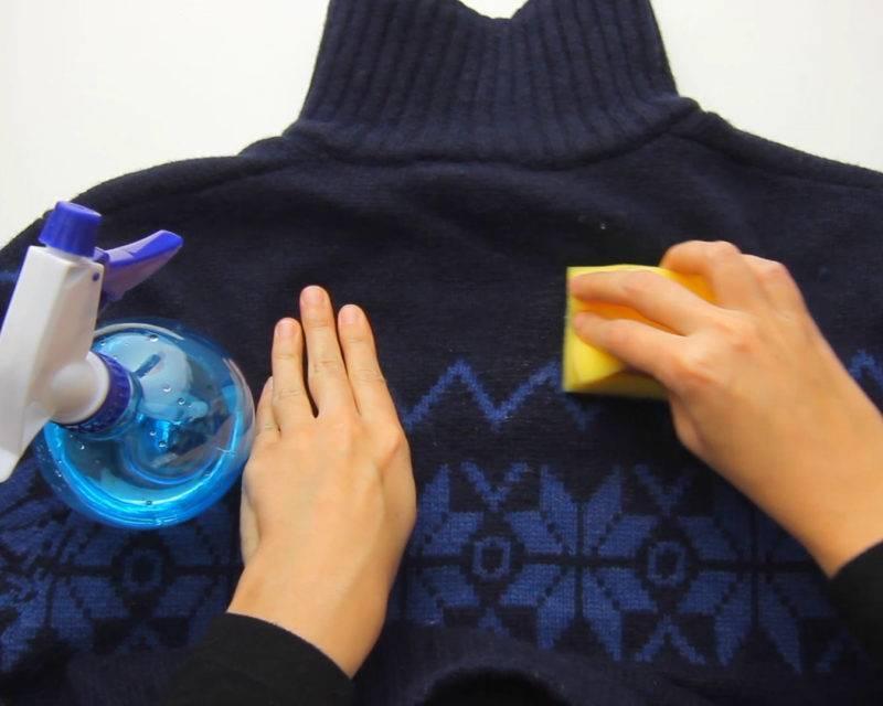 Как удалить катышки с одежды и домашнего текстиля