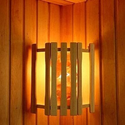 Абажур для светильника в баню своими руками