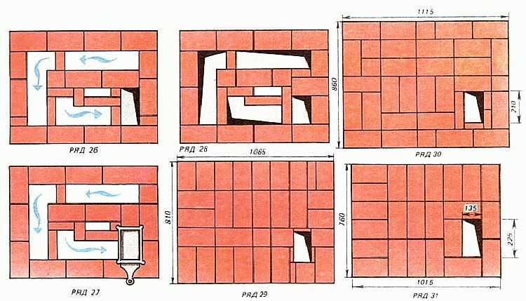 Раствор для кладки печи из кирпича своими руками – основные составы и пропорции