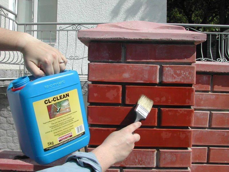 Обработка кирпича: пропитка кладки из силикатного кирпича. чем обработать фасад дома от разрушения и влаги?