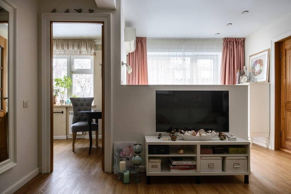 Ремонт в хрущевке 2х комнатной - фото дизайна и планировки хрущевки в двухкомнатной квартире 43 кв м и 44 кв м