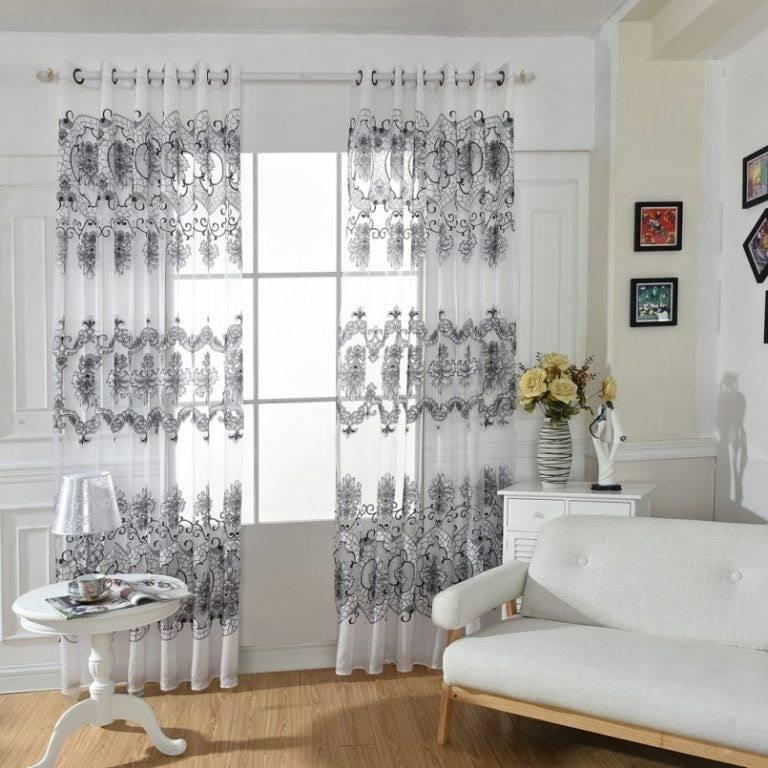 Гардины для штор — залог удачного декорирования оконного проема