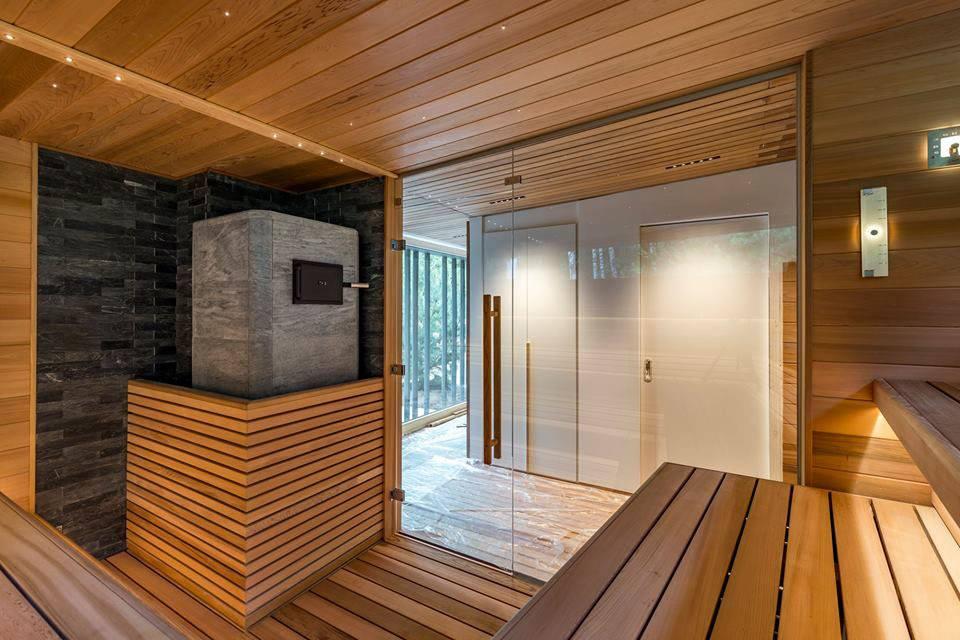 Сауна своими руками (54 фото): проекты с бассейном и комнатой отдыха, инфракрасная сауна, как сделать в квартире и как построить самому
