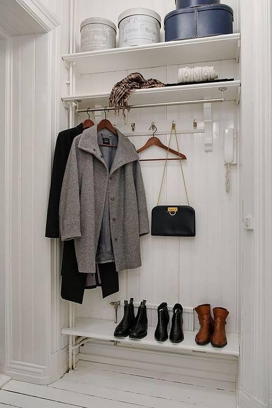 Наполнение шкафа купе в прихожую, основные системы хранения