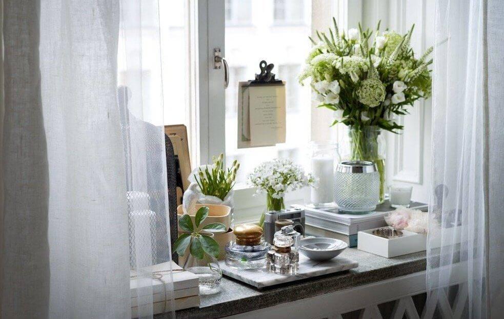 Идеи для оформления окна - фото подборка декора подоконника идеи для оформления окна - фото подборка декора подоконника