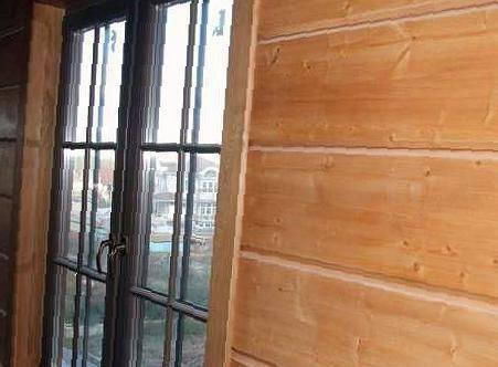 Имитация бруса из лиственницы: для внутренней отделки и фасада