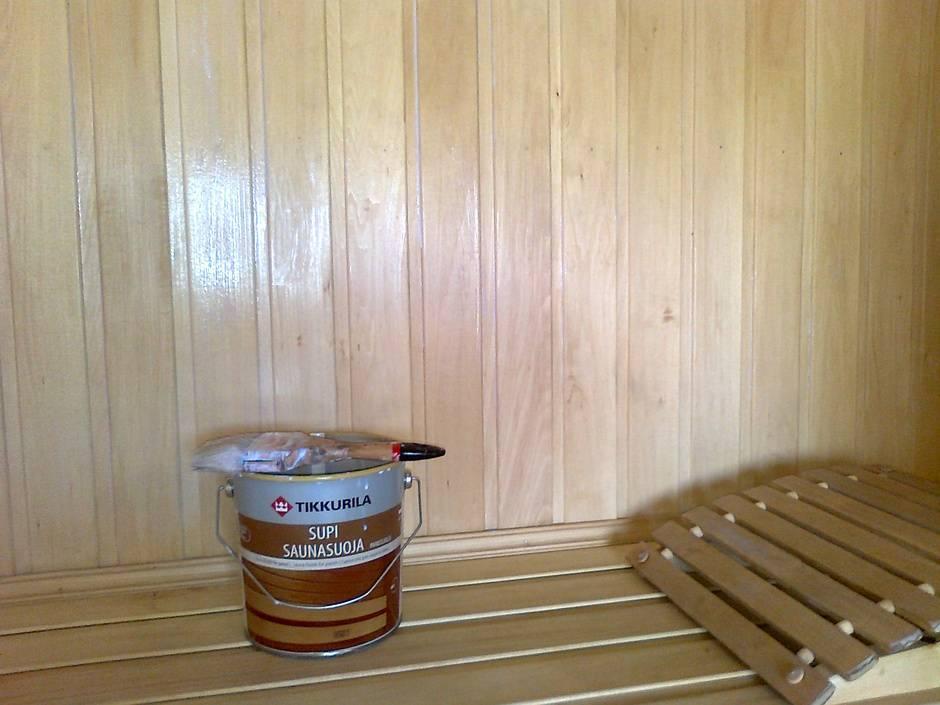 Разбираемся, чем обработать вагонку внутри бани: 2 средства для двух разных строений