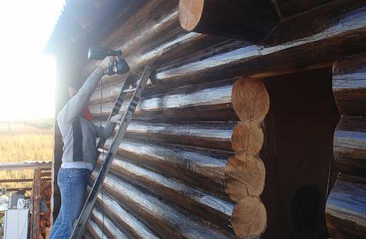 Обзор материалов и способов наружной обработки сруба
