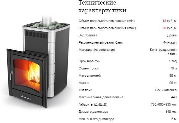 Печи для бани «термофор»: «оса» и «тунгуска», «гейзер» и «скоропарка», печка-камин с большим стеклом, отзывы