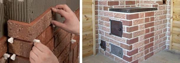 Облицовка печи керамической плиткой — пошаговая инструкция
