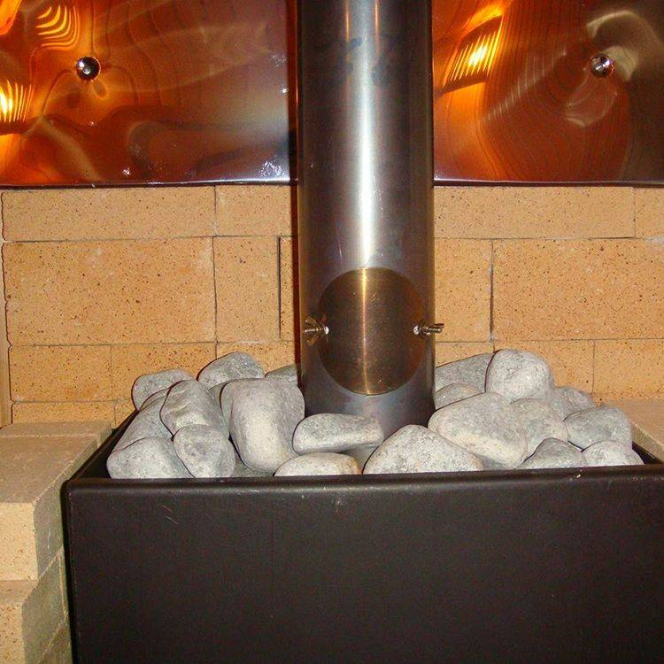 Как правильно класть камни в банную печь
