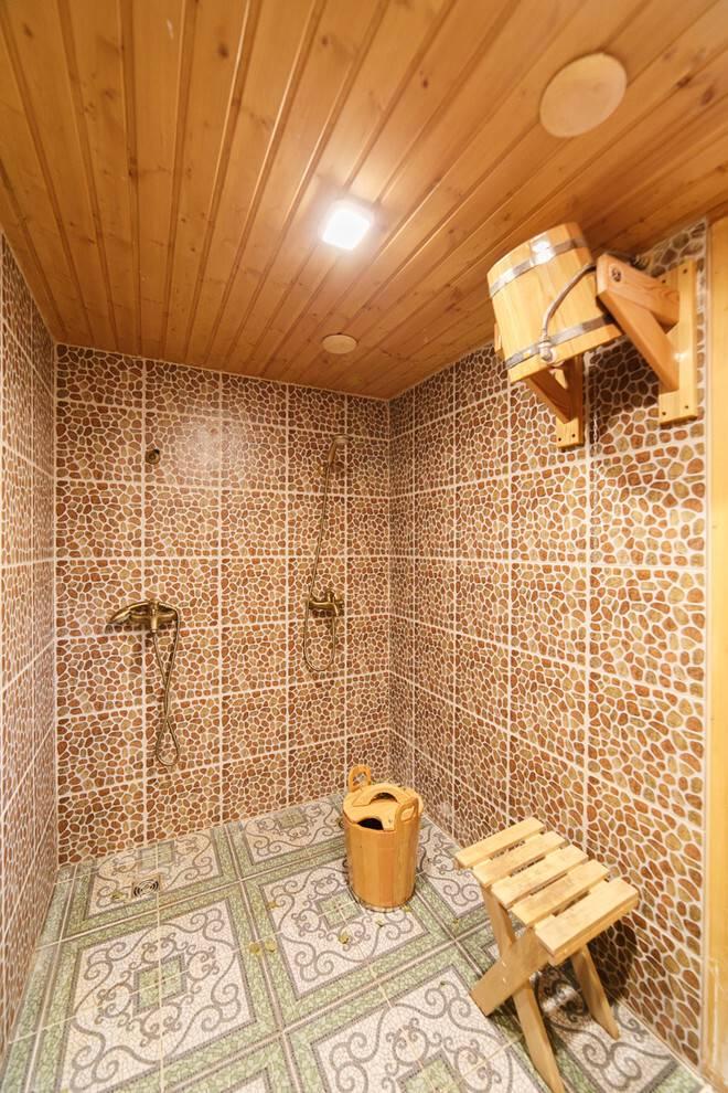Дом-баня: проекты домов с баней под одной крышей