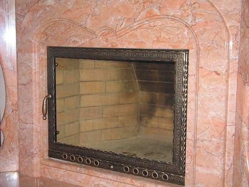 Как изготавливается дверца для камина, как провести работы своими руками. достоинства стеклянной двери для печи