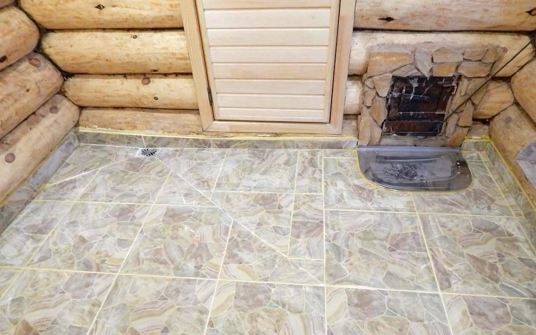 Нескользящая плитка для бани на пол: выбор и советы по укладке - строй-шпаргалка
