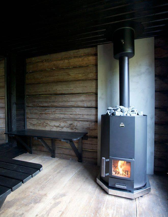 Финские печи для бани на дровах - лучшее отопление