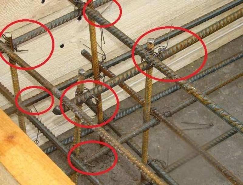 Вязка арматуры для фундамента, виды соединения и пошаговая инструкция