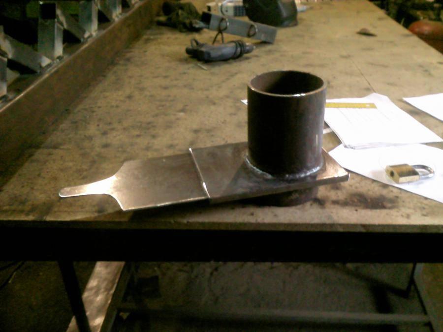 Стабилизатор тяги дымохода технология изготовления своими руками