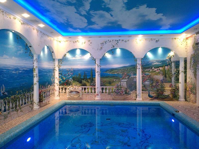 Греческий стиль в интерьере — свежий и красивый дизайн