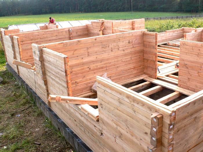 Как построить баню из бруса с нуля своими руками: технология